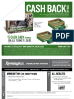 Remington Turkey Load Rebate