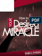 How to Receive Your Desired Miracle -Emeka Anslem