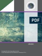Cuadernillo Jurisprudencia CorteIDH Nº 4 - Género.pdf