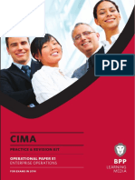 CIMA E1 Enterprise Operations Kit