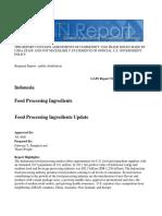 Food Processing Ingredients Jakarta Indonesia 12-20-2016