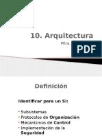 10. Arquitectura