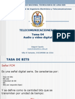 TEMA 04 - Audio y Vídeo Digital