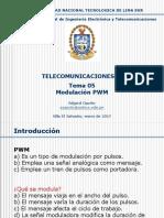 TEMA 05 - Modulación PWM
