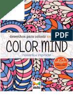 Desenhos Para Colorir Color Mind