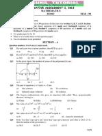 10th Maths Term-01 Original Question Paper 2013-01