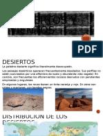 Desiertos y Vientos