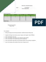 Format RAB Rencana Anggaran Biaya Kegiatan