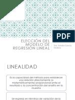 Modelo de Regresion Lineal