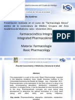 Clase Sanchez-Gutierrez Farmacocinetica