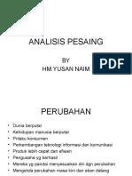 Bab 12 Analisis Pesaing