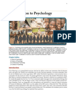 chapter 1 - introduction to psychology