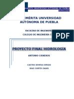 proyecto hidrologia