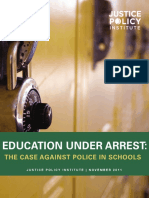 Education Under Arrest