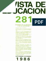 revista educacion