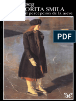Hoeg Peter - La Señorita Smila Y Su Especial Percepcion de La Nieve