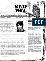 June-July 2004 Barred Owl Newsletters Baton Rouge Audubon Society