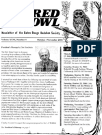 October-November 2004 Barred Owl Newsletters Baton Rouge Audubon Society