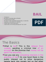 Criminal Procedure -- Bail