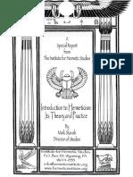 Intro Hermeticism