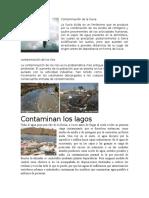 Contaminación de La Lluvia