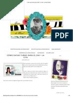 Cómo sacar turno para el DNI + La Cita - La Guía de Mau!