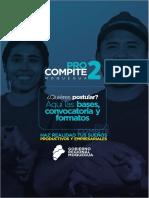 Bases PROCOMPITE 2 (Presentación)