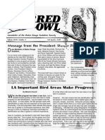 3rd Quarter 2007 Barred Owl Newsletters Baton Rouge Audubon Society