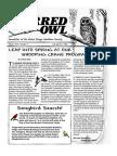 2nd Quarter 2008 Barred Owl Newsletters Baton Rouge Audubon Society