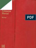 Modern Electronic Circuits Reference Manual