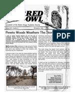 4th Quarter 2008 Barred Owl Newsletters Baton Rouge Audubon Society