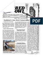 1st Quarter 2009 Barred Owl Newsletters Baton Rouge Audubon Society