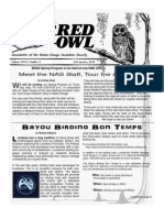 2nd Quarter 2009 Barred Owl Newsletters Baton Rouge Audubon Society