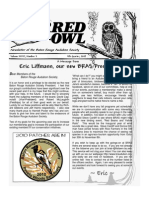 4th Quarter 2009 Barred Owl Newsletters Baton Rouge Audubon Society