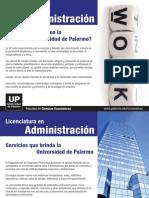 Administración en la UP