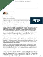 A Lei de Vilas - Colunistas - Artigos - Instituto de Engenharia