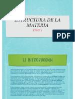 Tema 1 Estructura de La Materia