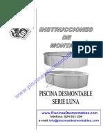 Manual Montaje Piscinas Toi Con Skimmer Filtrante