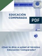 EducacionComparadaI diapositivas