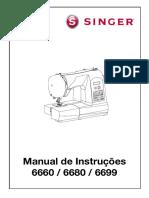 Manual 6680 Singer Starlet Português