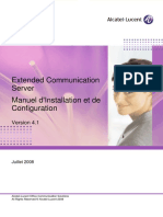 Extended Communication Server Manuel d'Installation Et de Configuration