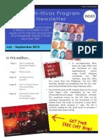 ihp newsletter jul-sep  2015