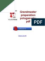 Grandmaster Preparation Polugaevsky PDF