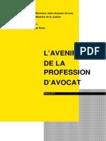 """Rapport de Kami Haeri """"L'avenir de la profession d'avocat"""""""