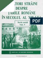 # Călători străini despre Ţările Române în secolul al XIX-lea. Volumul 5 - 1847-1851.pdf