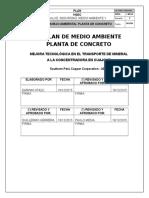 Plan de Manejo Ambiental-Planta de Concreto PMTC