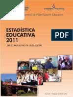 ESTADÍSTICA EDUCATIVA 2011_MEC.pdf