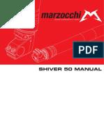 Manual Marzocchi 50mm USD Fork