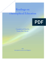Readings on Theosophical Education