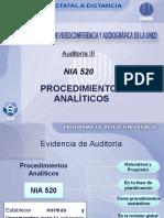 Nia 520 Procedimientosanaliticos Clase